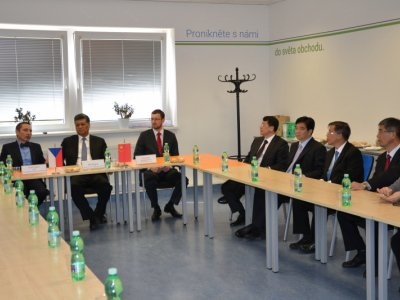 Chinese delegation visited the Czech INDUSTRY CLUSTER 4.0